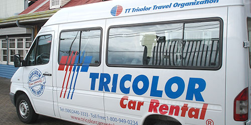 Tricolor Car Rental in Alajuela, Costa Rica